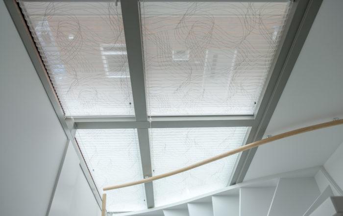 Binnenschilderwerk - raamdecoratie hal