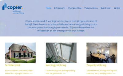 Vernieuwde website Copier