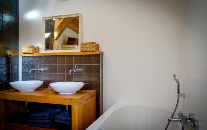 Wandafwerking badkamer